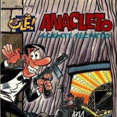 Cómics: ANACLETO, AGENTE SECRETO ( B, 1993) DE VÁZQUEZ. COLECCIÓN OLÉ Nª 2. Lote 222470178