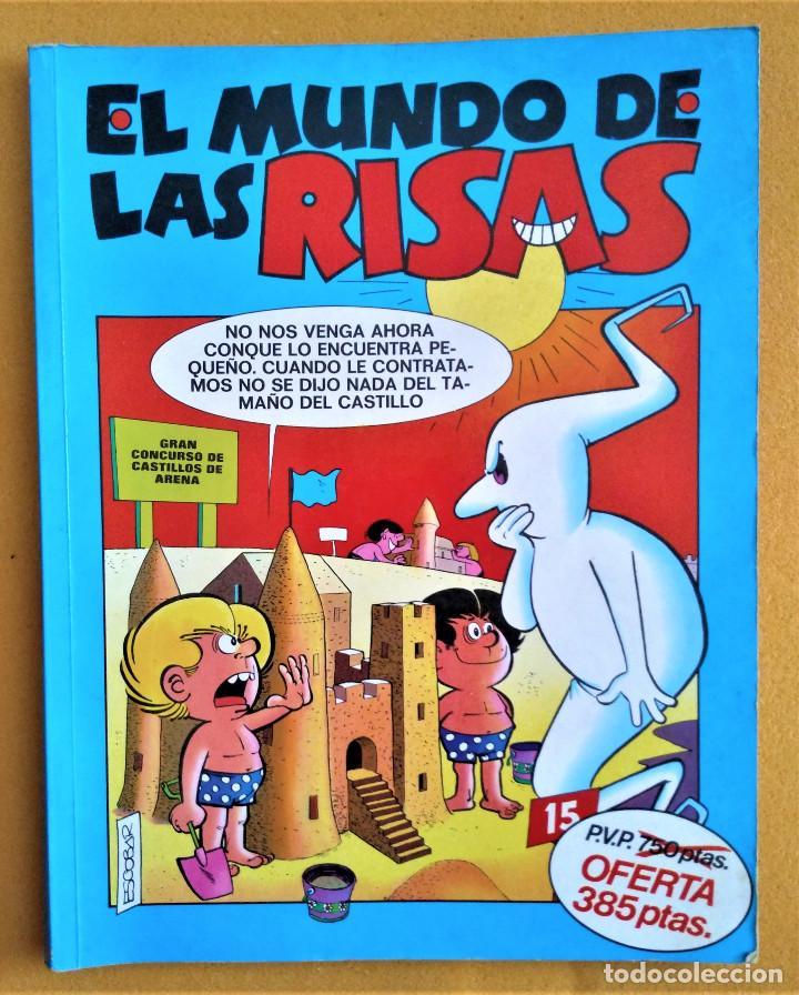 EL MUNDO DE LAS RISAS Nº 4 - ZIPI Y ZAPE - MORTADELO - SUPER LOPEZ - GUAI (Tebeos y Comics - Ediciones B - Otros)