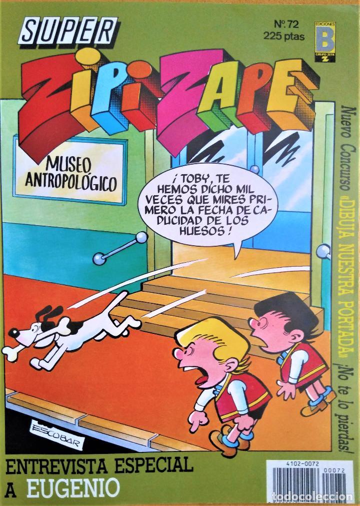 Cómics: EL MUNDO DE LAS RISAS Nº 4 - ZIPI Y ZAPE - MORTADELO - SUPER LOPEZ - GUAI - Foto 2 - 222528850