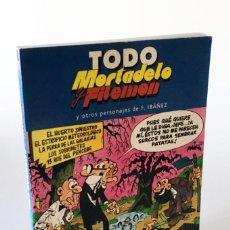 Cómics: TODO MORTADELO Y FILEMÓN Y OTROS PERSONAJES DE FRANCISCO IBÁÑEZ - NÚMERO 31 - MÁS 13 RUE DEL PERCEBE. Lote 222596225