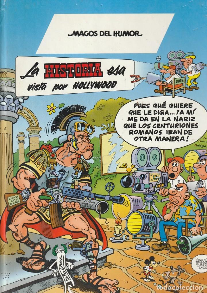 MAGOS DEL HUMOR LA HISTORIA ESA VISTA POR HOLLYWOOD. . 1998. FRANCISCO IBAÑEZ (Tebeos y Comics - Ediciones B - Humor)
