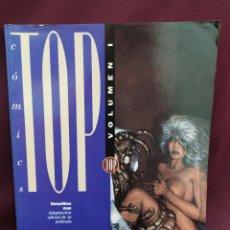 Cómics: COMICS TOP, VOLUMEN 1. EDICIONES B. CONTINE NÚMEROS 1,2 Y 3.. Lote 222760718