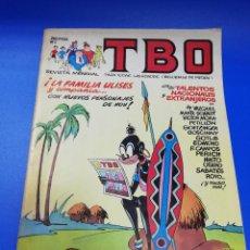 Cómics: TBO. REVISTA MENSUAL. LA FAMILIA ULISES Y COMPAÑIA. Nº 1. GRUPO Z. EDICOINES B. 1988.. Lote 222762806