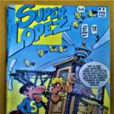 Cómics: SUPER LÓPEZ Nº8 - AL CENTRO DE LA TIERRA - JAN - EDICIONES B -1987. Lote 222830367