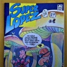 Cómics: SUPER LÓPEZ Nº9 - AL CENTRO DE LA TIERRA - JAN - EDICIONES B -1987. Lote 222830798