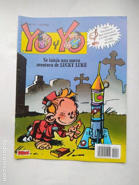 YO Y YO Nº 21. TEBEOS S.A. EDICIONES B. TDKC86 (Tebeos y Comics - Ediciones B - Clásicos Españoles)