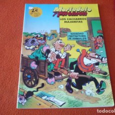 Cómics: MORTADELO Y FILEMON LOS CACHARROS MAJARETAS ( IBAÑEZ ) ¡BUEN ESTADO!. Lote 224145541