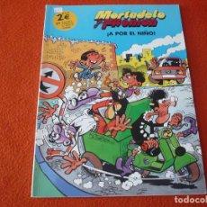 Cómics: MORTADELO Y FILEMON A POR EL NIÑO ( IBAÑEZ ) ¡BUEN ESTADO!. Lote 224145786