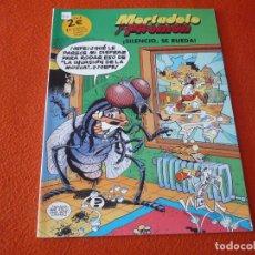 Cómics: MORTADELO Y FILEMON SILENCIO SE RUEDA ( IBAÑEZ ) ¡BUEN ESTADO!. Lote 224145932