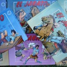 Cómics: EL JABATO. MORA & DARNÍS. EDICIONES B, COMPLETA 8 TOMOS.. Lote 224315821