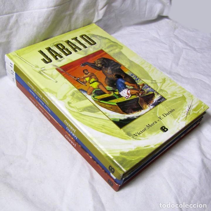 3 VOLÚMENES DE EL JABATO EDICIONES B ZETA, 4 AVENTURAS EN CADA VOLUMEN, TAPA DURA (Tebeos y Comics - Ediciones B - Clásicos Españoles)