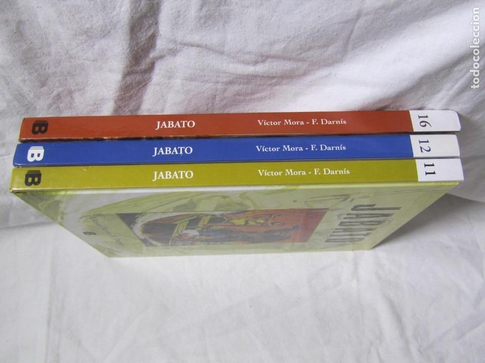 Cómics: 3 volúmenes de El Jabato Ediciones B Zeta, 4 aventuras en cada volumen, tapa dura - Foto 2 - 224380533
