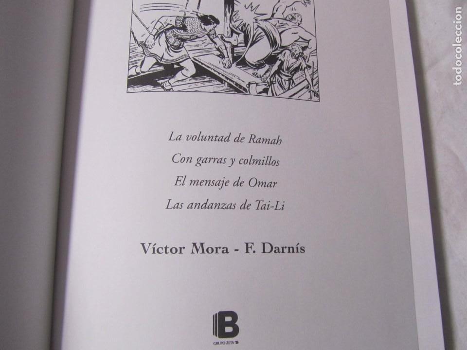 Cómics: 3 volúmenes de El Jabato Ediciones B Zeta, 4 aventuras en cada volumen, tapa dura - Foto 7 - 224380533