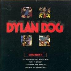 Cómics: DYLAN DOG 1 - INCLUYE LOS 4 PRIMEROS NÚMEROS DE LA COLECCION. Lote 224583885