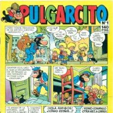 Cómics: PULGARCITO Nº 1 DE EDICIONES B, AÑO 1987. Lote 224891891