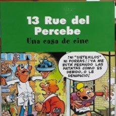 Cómics: COMIC 13 RUE DEL PERCEBE UNA CASA DE CINE. Lote 224981025