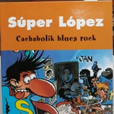 Cómics: COMIC SÚPER LOPES CACHABOLIK BLUES ROCK. Lote 224981405