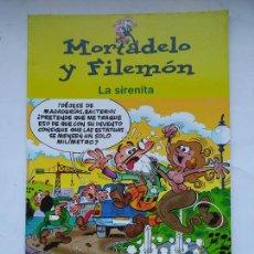 Comics : MORTADELO Y FILEMÓN. LA SIRENITA. EDICIONES B. TDKC39. Lote 225731690