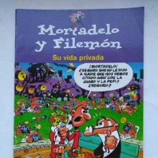 Comics : MORTADELO Y FILEMÓN. SU VIDA PRIVADA. EDICIONES B. TDKC39. Lote 225731775