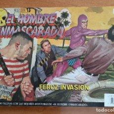 Cómics: EL HOMBRE ENMASCARADO - FEROZ INVASIÓN - Nº 13. Lote 225778355