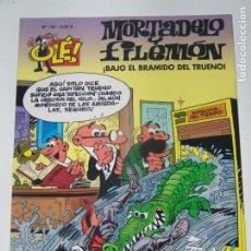 Comics: OLE MORTADELO Y FILEMON 176 BAJO EL BRAMIDO DEL TRUENO. Lote 226064090