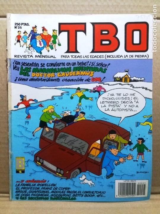 TBO Nº 25 (Tebeos y Comics - Ediciones B - Humor)