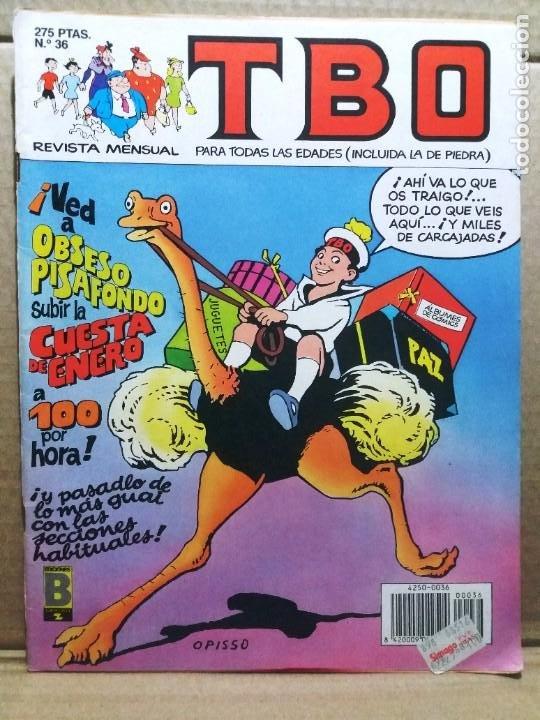 TBO Nº 36 (Tebeos y Comics - Ediciones B - Humor)