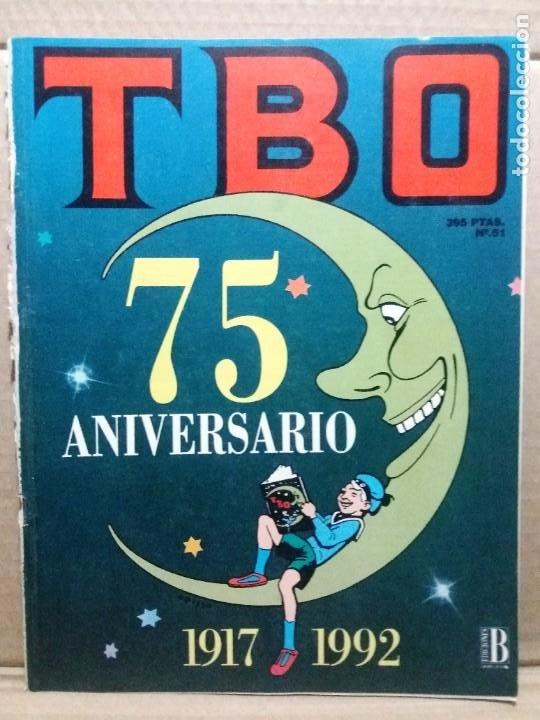 TBO 75 ANIVERSARIO 1917 - 1992 (Tebeos y Comics - Ediciones B - Humor)