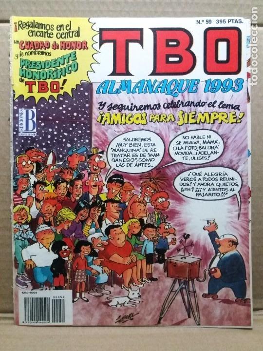 TBO ALMANAQUE 1993 (Tebeos y Comics - Ediciones B - Humor)