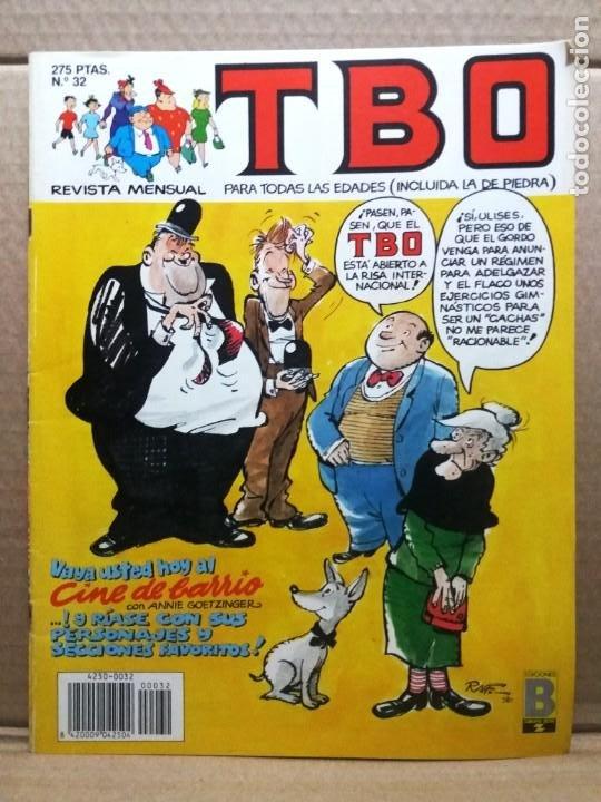 TBO Nº 32 (Tebeos y Comics - Ediciones B - Humor)