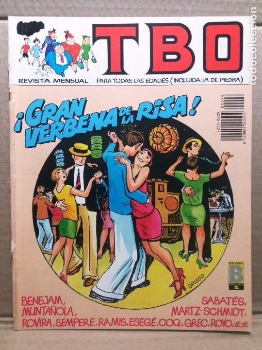 TBO Nº 29 / GRAN VERBENA DE LA RISA (Tebeos y Comics - Ediciones B - Humor)