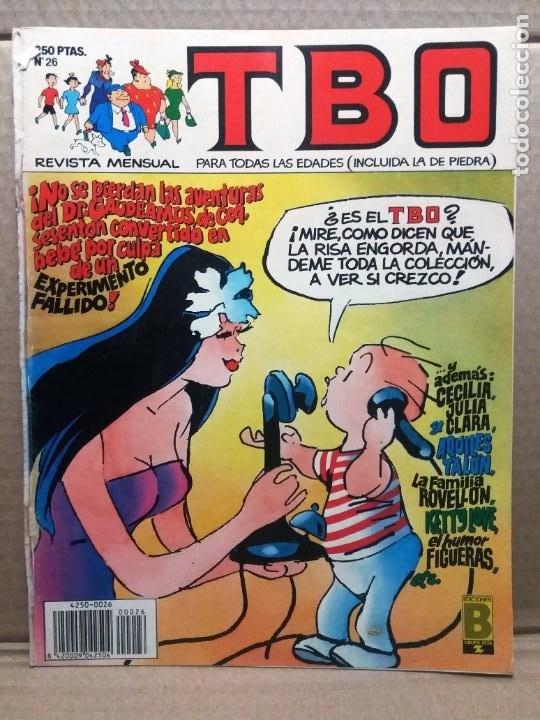 TBO Nº 26 (Tebeos y Comics - Ediciones B - Humor)