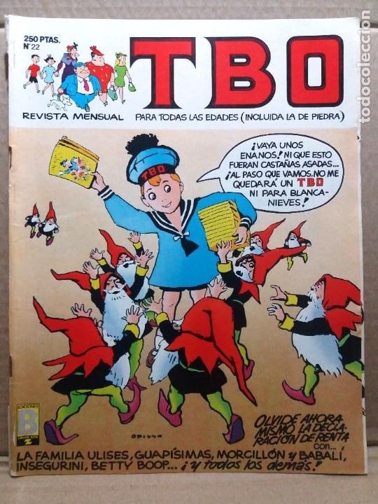 TBO Nº 22 (Tebeos y Comics - Ediciones B - Humor)