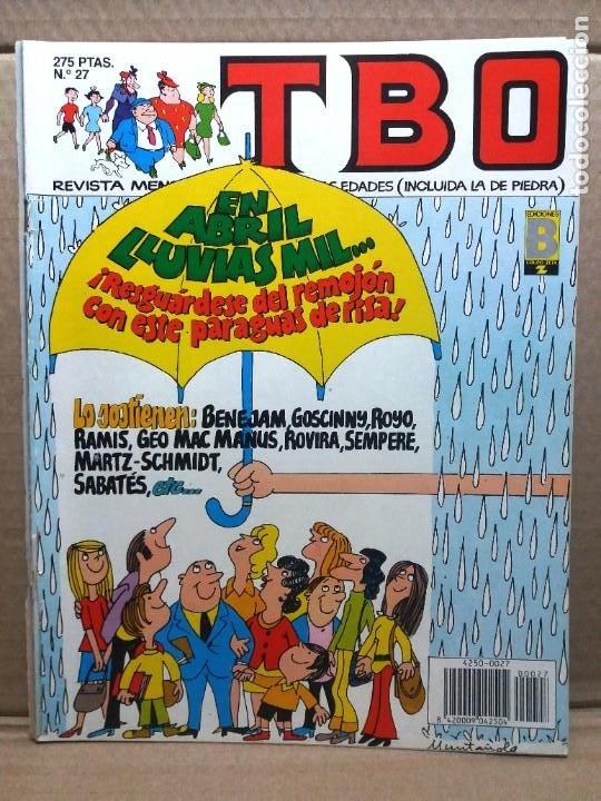 TBO Nº 27 / EN ABRIL LLUVIAS MIL... (Tebeos y Comics - Ediciones B - Humor)