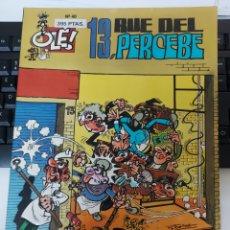 Comics: OLE MORTADELO 40 13 RUE DEL PERCEBE PRIMERA EDICION. Lote 226268145