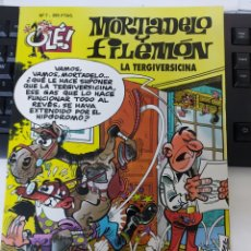 Comics: OLE MORTADELO 7 LA TERGIVERSICINA SEGUNDA EDICION. Lote 226270495