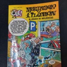 Comics: OLE MORTADELO 3 EL ATASCO DE INFLUENCIAS SEGUNDA EDICION. Lote 226271230