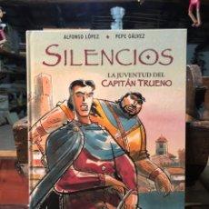 Cómics: SILENCIOS: LA JUVENTUD DEL CAPITÁN TRUENO - VICTOR MORA - EDICIONES B. Lote 226364285