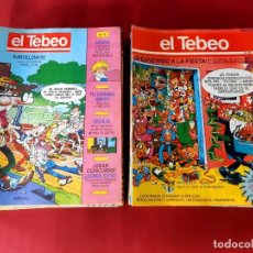 Cómics: LOTE DE 64 SUPLEMENTO CÓMIC EL TEBEO (EL PERIÓDICO DE CATALUNYA). Lote 245757415