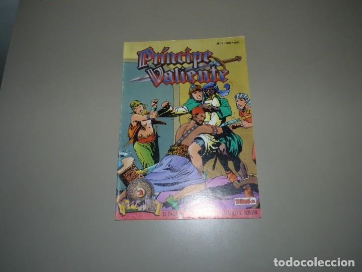 """EL PRINCIPE VALIENTE N 8"""" ,TEBEOS S.A,DIBUJO Y GUION; HAROLD R FOSTER, ENCUADERNACIÓN EN RÚSTICA. (Tebeos y Comics - Ediciones B - Otros)"""