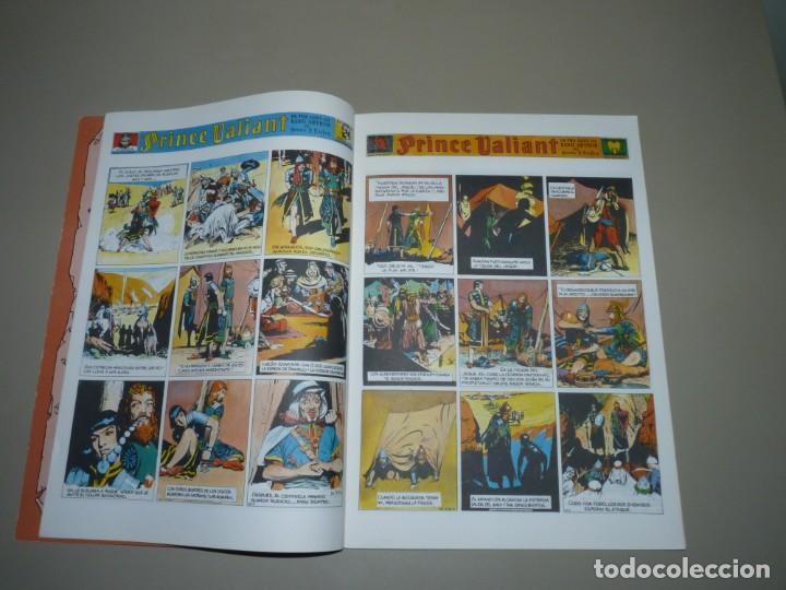 """Cómics: El principe valiente N 8"""" ,Tebeos S.A,dibujo y guion; Harold R Foster, encuadernación en rústica. - Foto 3 - 227133115"""