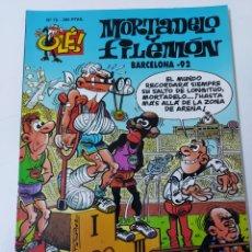 Comics: OLE MORTADELO 76 BARCELONA 92 PRIMERA EDICION. Lote 226265790