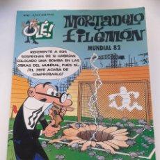 Cómics: MORTADELO Y FILEMON: MUNDIAL 82 - COLECCIÓN OLÉ 62 - EDICIONES B. Lote 227703520
