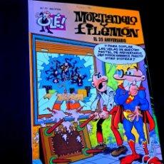 Comics : EXCELENTE ESTADO 2° SEGUNDA EDICION MORTADELO Y FILEMON 77 EDICIONES B OLE. Lote 227800216