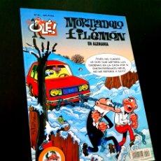 Cómics: EXCELENTE ESTADO 2° SEGUNDA EDICION MORTADELO Y FILEMON 91 EDICIONES B OLE. Lote 227809650