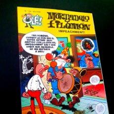 Cómics: EXCELENTE ESTADO 1° PRIMERA EDICION MORTADELO Y FILEMON 150 EDICIONES B OLE. Lote 227821435