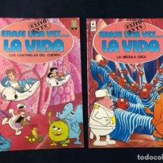 Cómics: ERASE UNA VEZ...LA VIDA / EJEMPLARES Nº 3 - 4 / EDICIONES B. Lote 227863120