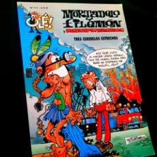 Cómics: EXCELENTE ESTADO 3° TERCERA EDICION MORTADELO Y FILEMON 111 EDICIONES B OLE. Lote 227977335