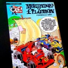 Cómics: EXCELENTE ESTADO 1° PRIMERA EDICION MORTADELO Y FILEMON FORMULA UNO EDICIONES B OLE. Lote 227979380