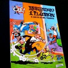 Cómics: EXCELENTE ESTADO 2° SEGUNDA EDICION MORTADELO Y FILEMON 90 EDICIONES B OLE. Lote 227983070